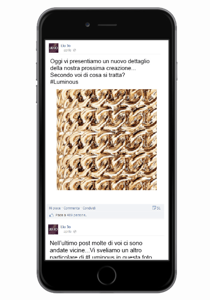 Liujo - Sinapps Social Media Marketing Milano