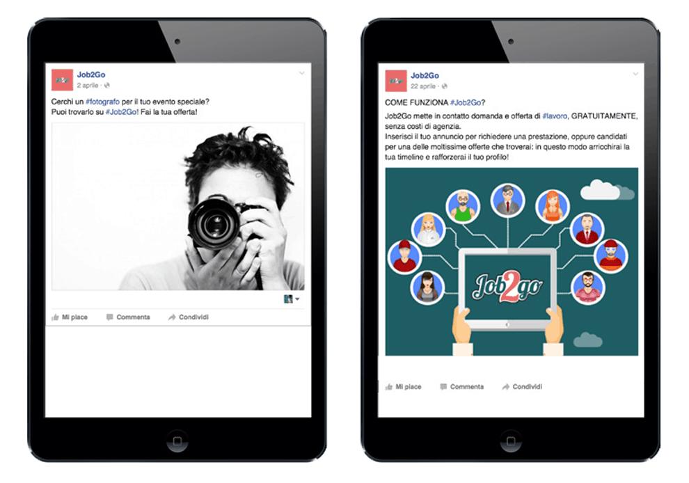 JOB2GO - Sinapps Social Media Marketing Milano