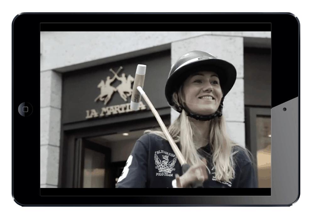 LA MARTINA - Sinapps Video Milano